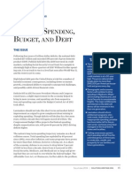 Budget and Spending