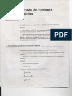 Derivadas de Funciones Implicitas