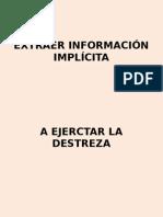 Extraer Información Implícita