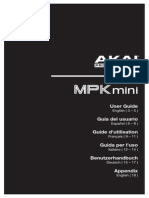 MPK Mini - User Guide - V1.0