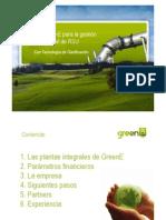 Plantas generadoras. Pretratamiento