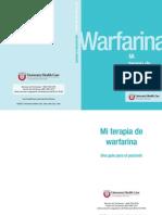 Terapia de Warfarina