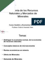 Clase 1 Economia Recursos Naturales
