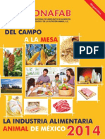 INFORME DE PRODUCCION DE ALIMENTO BALANCEADO EN MÉXICO 2014