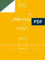SME Union-Annual Report 2007