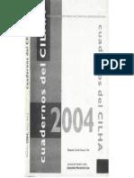 Revista CILHA (2005) - Dossier Sobre Novela Histórica