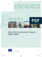Best LIFE-Environment Projects 2005-2006