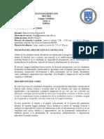 syllabus lengua castellana 6a