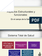 Aspectos Estructurales y Funcionales en El Campo de La Salud
