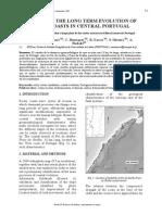 Artigo - Modelação Da Evolução Da Evolução a Longo Prazo Das Costas Rochosas Do Litoral Centro de Portugal