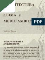 1.- Arquitectura y Medio Ambiente