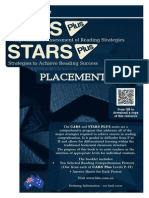 CARS and STARS Plus Placement Book