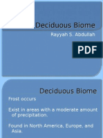 Deciduous Biome