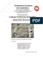 Caracterización Del Macizo Rocoso-Orbasa