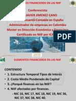 Elementos Financieros en Las NIIF II