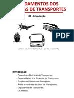 Aula 1 - Introdução-Sistemas de Transportes