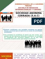 SOCIEDAD ANONIMA CERRADA (S.A.C)