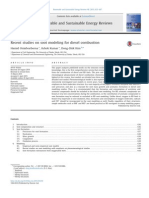 Recent Studies on Soot Modeling for Diesel Combustion
