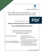 Sistema de Identificación Local Por Rafiofrecuencia RFID