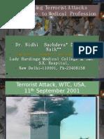 Increasing Terrorist Attacks