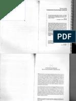 De Castro y García (2008) Psicología Clínica. Fundamentos Existenciales (Caps. 5 y 8)