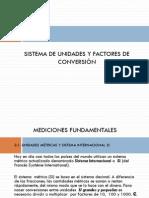 Unidad 1.1. Sistema de Unidades y Factores de Conversión