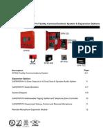 ++Wheelock panel SP40 y audiobooster