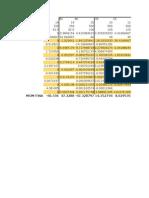 Hc en Excel Vigas y Marcos