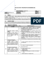 Ici Costos Presupuestos Ing Civil 2015 2