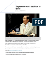 SC Decision on Enrile Bail Plus PhilStar Article
