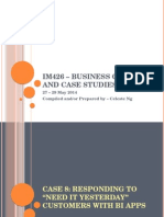business cases and Case studies in mis