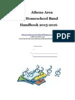 AAHB Handbook 2015-2016