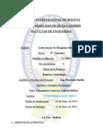 Hidraulica Informe 1 Bombas Centrifugas