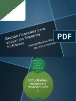 Gestión Financiera Para Apoyar Los Sistemas Inclusivos