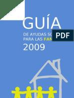 Guia Ayudas Sociales Familias 2009