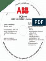 Customer CD Dcs800 Rev b