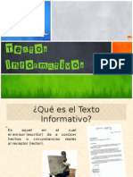 Texto Informativo 6º Básico