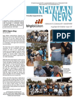 Newman News Aug/Sept 2015 Edition