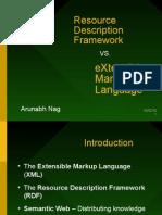 RDF vs XML