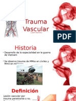Trauma Vascular Periferico