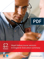 g235 Heart Failure Nurse Services in England Executive Summary 0908