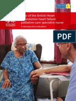 z812 Role of the Bhf Heart Failure Palliative Care Specialist Nurse a Retrospective Evaluation 0111