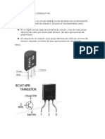 El Transistor Como Interruptor