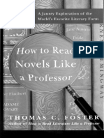 Foster's How To Read A Novel Like A Professor Chapter 1