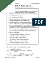 Math 37 Problem Set 1