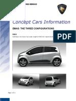 EMAS Concept Car Information