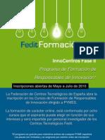 Programa de Formación de Responsables de Innovación