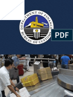 Bureau of Customs presentation on balikbayan boxes