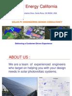 Solar Energy California Presentation