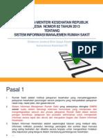 Dokumen.tips Paparan Simrs Peraturan Menkes Ri No 82 Tahun 2013